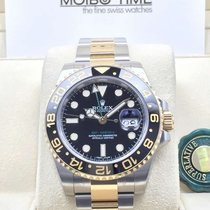 勞力士 (Rolex) 116713LN GMT Master II GOLD STEEL Ceramic Bezel [NEW]
