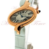 Cartier Delices Small, Silver Dial - Pink Gold on Strap