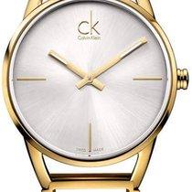 ck Calvin Klein Damenuhr Stately K3G23526