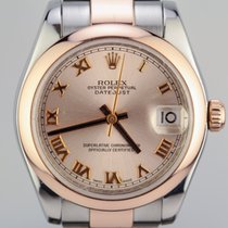 Rolex Datejust 31mm Stainless Steel & 18K Rose Gold