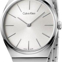 ck Calvin Klein Supreme K6C2X146 Damenarmbanduhr flach &...