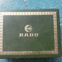 Rado vintage watch boxes green leather very rare