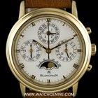 Blancpain 18k Y/G Perpetual Calendar Chrono Villeret 55...