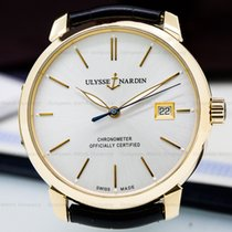 Ulysse Nardin San Marco Classico Automatic Silver Dial 18K...