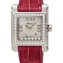 Chopard Happy Sport Square Quartz Diamond Ladies Watch...