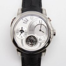 Harry Winston : Midnight GMT Tourbillon White Gold Men's...