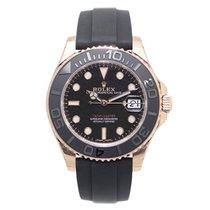 劳力士  (Rolex) Yacht Master 18k Pink Gold Black Automatic 268655BK