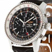 Breitling Navitimer World Chronograph Edelstahl Ref.A24322