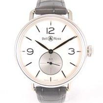 Bell & Ross Argentium white dial Full set Like new