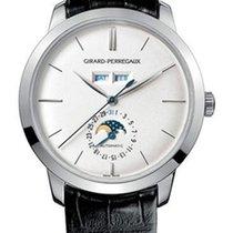 Girard Perregaux 1966 Full Calendar Platinum Men's Watch