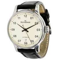 Meistersinger BM2.03 Men's Watch in Stainless Steel