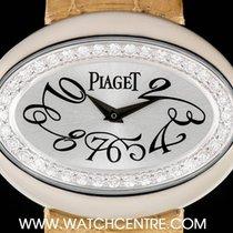Piaget 18k White Gold Diamond Bezel Limelight Casino Ladies...