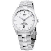 Tissot Pr 100 Silver Dial Stainless Steel Men's Watch...