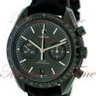 "Omega Speedmaster Moonwatch Co-Axial Chronograph ""Dark..."