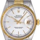 Rolex Datejust Men's 2-Tone Watch 16233
