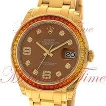 Rolex Datejust Pearlmaster 39mm, Cognac Diamond Dial ,...