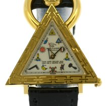 Waltham 18k Masonic Triangle Watch