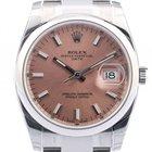 Rolex Oyster Perpetual Date Stahl 34mm Ref. 115200