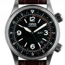Oris Royal Flying Doctor Stahl Automatik Armband Leder...