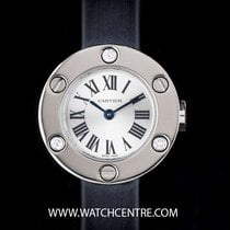 Cartier 18k White Gold Diamond Bezel Love Ladies Wristwatch...