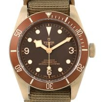 Tudor Heritage Automatic Bronze Dial Mens Watch 79250 Box Papers