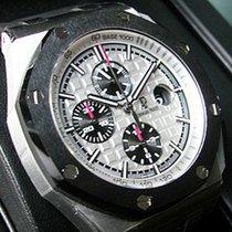 Audemars Piguet Ap  Royal Oak Offshore Chronograph Steel Black...