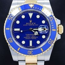 Rolex Submariner 116613 Two Tone 18k Yellow Gold & Steel...