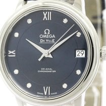 Omega Polished Omega De Ville Prestige Co-axial Diamond Watch...