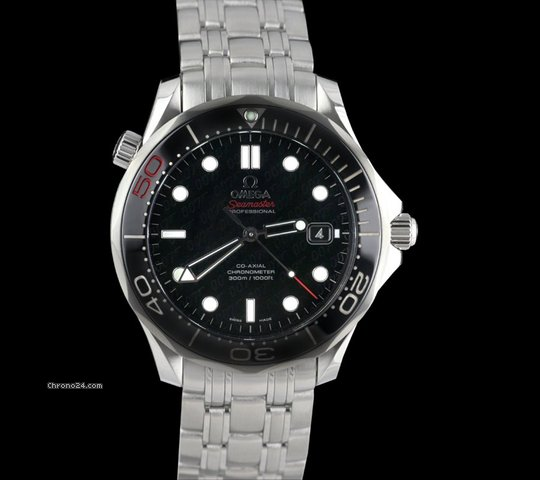 Omega Seamaster 300m Chronometer SS James Bond 50th Anniversary Ltd Edition