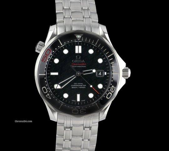 Omega Seamaster 300m Chronometer SS James Bond 50th Anniversary Ltd Edition