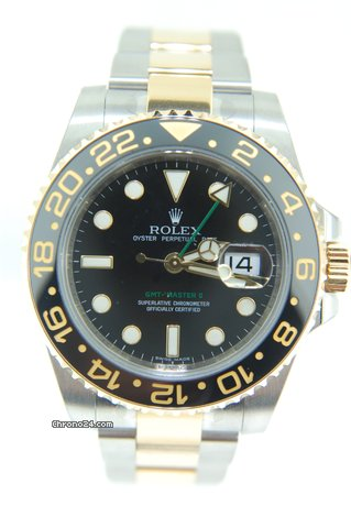 Rolex GMT Master II Steel/Gold Ceramic,NEW ,116713LN