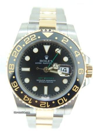 Rolex GMT Master II Steel/Gold Ceramic,NEW ,116713LN