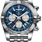 Breitling Chronomat 44 GMT Steel Chronograph Watch - AB042011/...