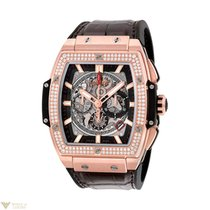 Hublot Spirit of Bing Bang 18K King Gold Diamonds Men`s Watch