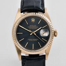 "Rolex Datejust Yellow Gold - ""Tuxedo"" Dial"