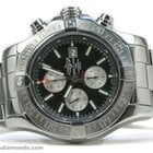 Breitling A13371 Super Avenger II Chronograph Black Dial 48mm...