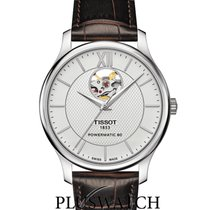 Tissot Tradition Automatic Open Heart Black Dial 40mm G