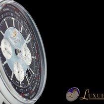 Breitling Transocean Chronograph Unitime Black Edelstahl 46mm