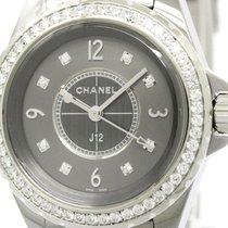 Chanel Polished Chanel J12 Chromatic Diamond Ceramic Quartz...