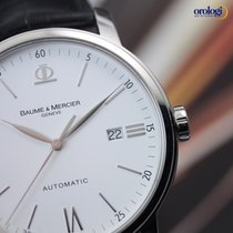 Baume & Mercier Classima Executives Automatic 42 Steel on...