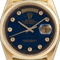 Rolex Day-Date with Stone (Aventurine) Diamond Dial,  Ref: 18038