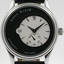 "Louis Erard ""Heritage Automatic"" Steel 40mm. case."