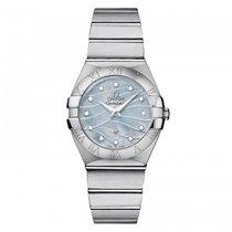 Omega Constellation  Stainless Steel Ladies watch 123.10.27.60...