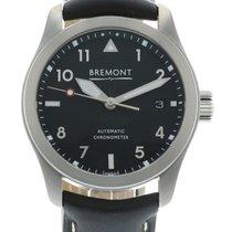 Bremont Solo-37 Black-Silver