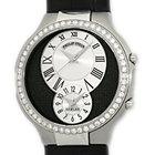 Philip Stein Diamond Teslar Dual Time Strapwatch