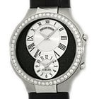 "Philip Stein Diamond ""Teslar"" Dual Time Strapwatch."