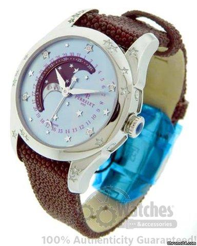 Perrelet A2029/2 Moon Phase MoP Diamond Star Watch