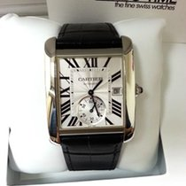 Cartier Tank MC Steel White Dial [NEW]