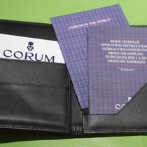Corum vintage warranty card booklet and wallet for tabogan models