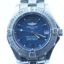 Breitling Colt Oceane Damen Uhr A77350 Stahl/stahl Rar Top...